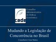 César Mattos - Conselho Administrativo de Defesa Econômica