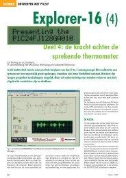 Deel 4: de kracht achter de sprekende thermometer - ELEKTOR.nl