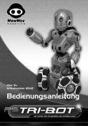 Bedienungsanleitung - myRobotcenter