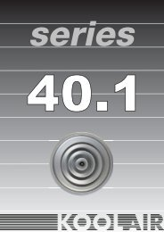 series 40.1 - Koolair