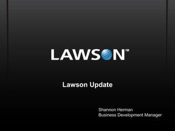 Lawson Update - Digital Concourse