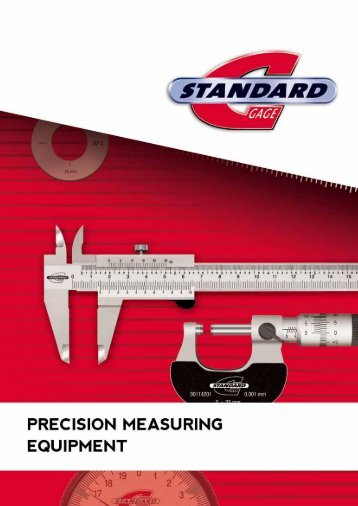 Standard Gage – Catalogue - Microntesa.co.za