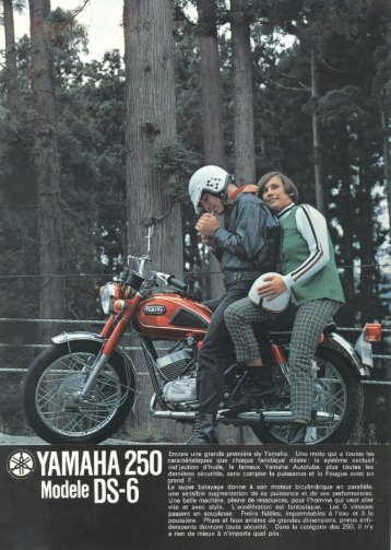 YAMAHA 250 DS-6