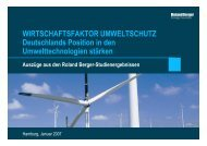 """""""Wirtschaftsfaktor Umweltschutz"""". - Roland Berger Strategy ..."""