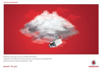 Download product brochures - Vodacom
