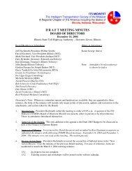 Board of Directors Meeting Minutes (Dec. 2004) - ITS Midwest