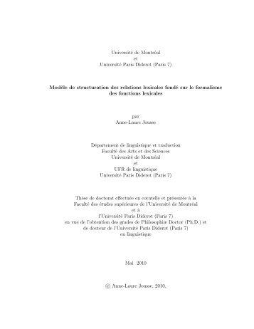 PDF (2,4 Mo) - Observatoire de linguistique Sens-Texte (OLST)