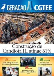 Construção de Candiota III atinge 61% - CGTEE
