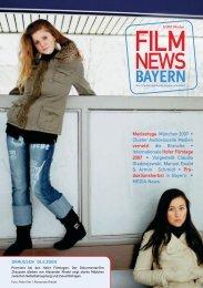 Weichenstellung für den deutschen Film - FilmFernsehFonds Bayern