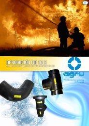 Sistemas de Protección contra Incendios PE 100 - Qsi