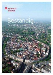 Geschäftsbericht 2011 - Sparkasse Bielefeld