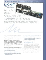 in-line sample preparation and analysis - Hyxo