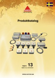 Produkt Katalog 13 - Samon AB
