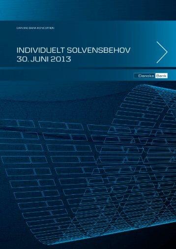 Individuelt solvensbehov - Danske Bank