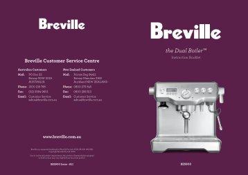 the Dual Boiler™ - Breville