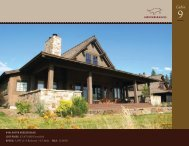 Download the Brochure - Gozzer Ranch