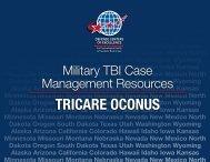 TRICARE OCONUS - Defense Centers of Excellence
