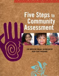Five Steps to Community Assessment - AED Center for Early Care ...