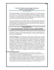 Recommendations - Azim Premji Foundation