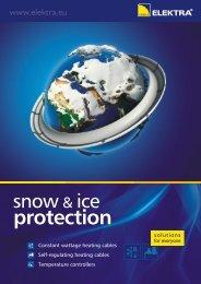 Snow & ice protection - leaflet (3327 KB) - Elektra