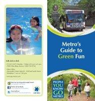 Guide to Green Fun - Metro