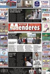 31 Ekim Tarihli Küçükmenderes Gazetesi