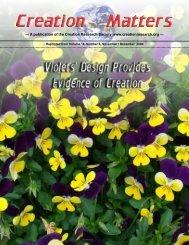 reprint violets CM14 06 - Discover Creation