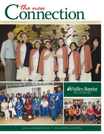 The New Connection Vol.4, Issue 1 - VBHS Home - Valley Baptist ...