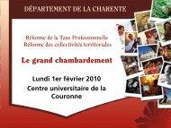 Le grand chambardement - Charente