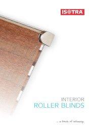 Interior roller blinds catalog.pdf - Isotra