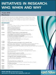 Initiatives in Research Form.indd - CoR events booking