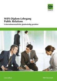 Wifi-Diplom-Lehrgang public relations