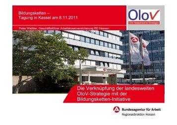 Die Verknüpfung der landesweiten OloV-Strategie mit der ...