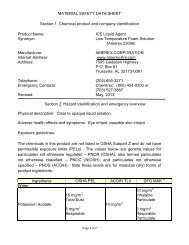 ICE Liquid Agent ENGLISH - Amerex Corporation