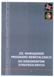 iii. nawiązań programu rewitalizacji do dokumentów ... - Chrzanów
