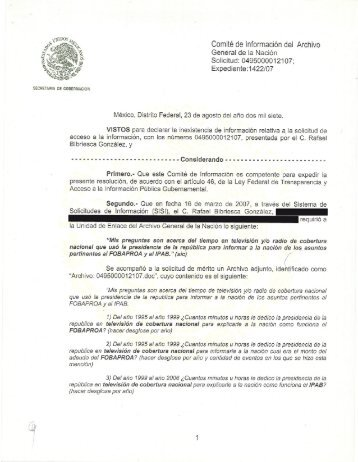 Documento - Archivo General de la Nación