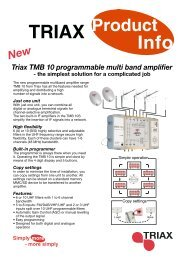 Product - Triax