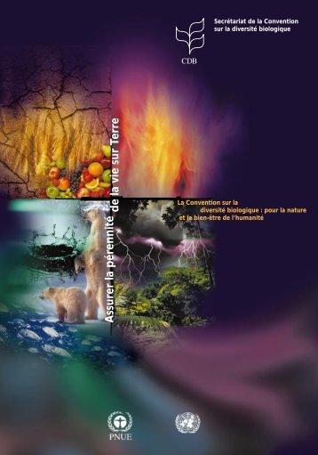 Convention sur la diversité biologique - Convention on Biological ...