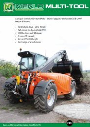 Merlo Multifarmer Multi-Tool Brochure - Collings Brothers of Abbotsley