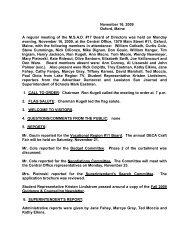 November 16, 2009 Oxford, Maine A regular meeting of ... - MSAD #17