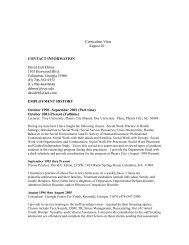 Curriculum Vitae August 10 CONTACT ... - Troy University