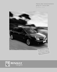 Ausstattung - TRI AG Automobile