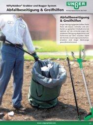 Abfallbeseitigung & Greifhilfen - Unger