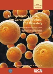An Explanatory Guide to the Cartagena Protocol on Biosafety An ...