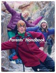 Parents' Handbook 2012-2013 - Prescott College