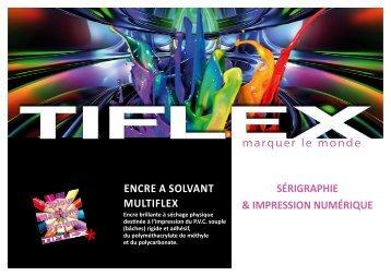 Télécharger notre fiche produit (PDF, 377 Ko) - Tiflex