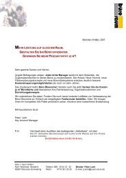 leistung auf gleichem raum. - www-Peter-Lech.de