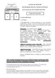 14. Garanties d™emprunts auprès de la SA d™HLM Vaucluse ...