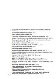 page 4 - Patrimoine numérique. Catalogue des collections numérisées
