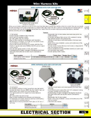 Wire Harness Kits - Mid-Usa Canada